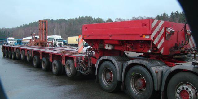 виды тралов для переовзки негабаритных грузов